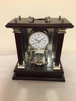 Wallace Spinning Mahogany Carriage Clock