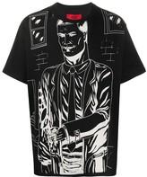 424 cartoon-print T-shirt