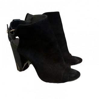 Vince Black Suede Ankle boots