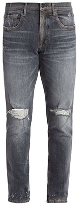 Joe's Jeans Asher Ayres Distressed Slim-Fit Jeans
