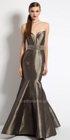 Camille La Vie Sweetheart Plunging Mermaid Evening Dress