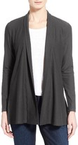 Eileen Fisher Women's Jersey Knit Straight Cut Long Cardigan