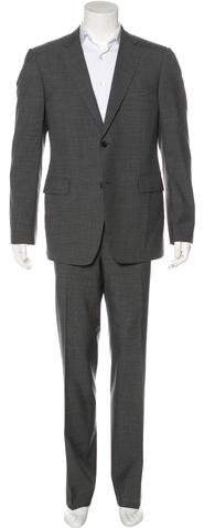 Gucci Two-Button Wool Suit