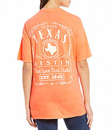 Royce Texas State Label Graphic Tee