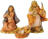 Fontanini Centennial Holy Family Italian Nativity Village Figurines Set of 3