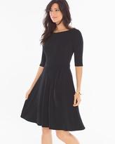 Soma Intimates Ilana Scoop Back Short Dress Black