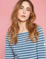 Joules Womens Riviera Saltwash Dress in 100% Cotton in Blue Stripe