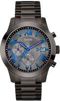GUESS Gunmetal-Tone Modern Chronograph Watch