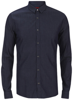 Hugo Ero3 Long Sleeve Shirt Dark Blue