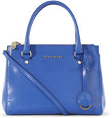 Karen Millen Medium Leather Tote Bag - Blue