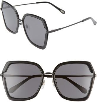 Dakota DIFF 57mm Square Sunglasses