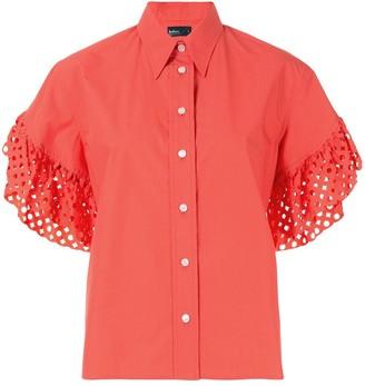 Kolor Laser Cut Sleeves Shirt