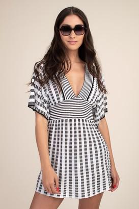 Trina Turk Stripe Covers Tunic