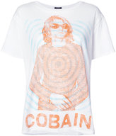 R 13 Cobain T-shirt - women - Cotton/Cashmere - XS