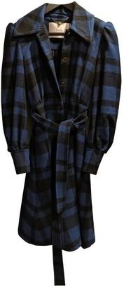 Luella Blue Wool Coat for Women
