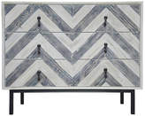 CFC Reclaimed Chevron Dresser - Blue/Natural
