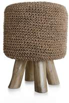 Zodax Woven Foot Stool