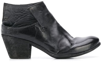 Officine Creative Low-Ankle Heeled Boot