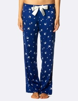 Deshabille Fly Away Royal PJ Pants Gift Bag