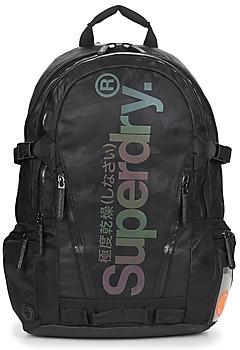 Superdry CAMO REFLECTIVE TARP RUCKSACK women's Backpack in Black