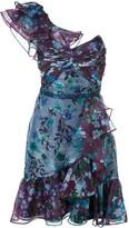 Marchesa floral print mini dress