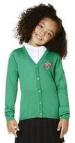 F&F Unisex Embroidered Wool Blend Cardigan