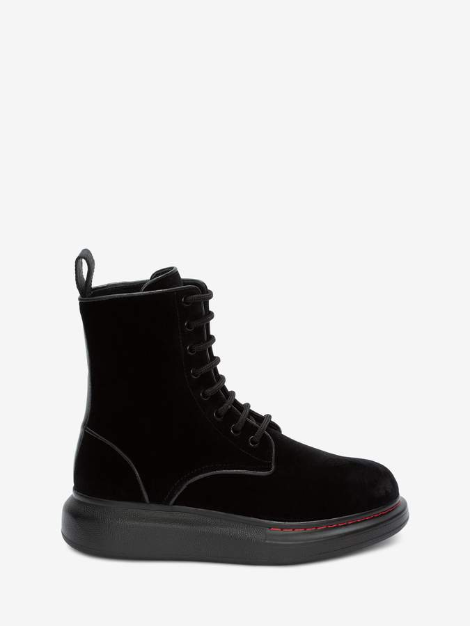 Alexander McQueen Hybrid Lace Up Boot