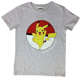 Pokemon Grey T-Shirt - 6-7 Years