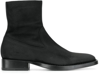 Ann Demeulemeester Square Toe Boots
