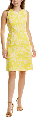 Brooks Brothers Embroidered Sheath Dress