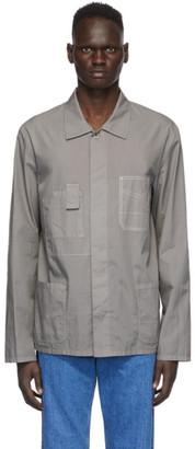 Maison Margiela Grey Garment-Dyed Shirt