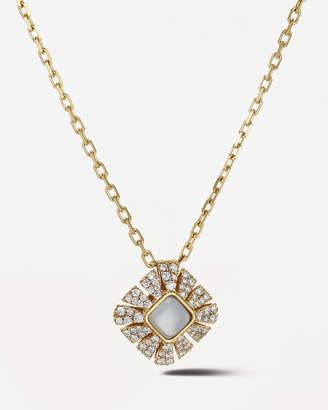 Miseno Vesuvio 18k Yellow Gold Mother-of-Pearl Pendant Necklace