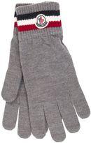 Moncler Striped Trim Gloves