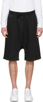 Ueg Black Denim finis Europae Shorts