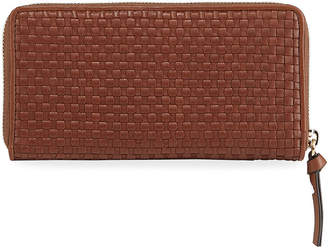 Cole Haan Bethany Woven Leather Continental Wallet