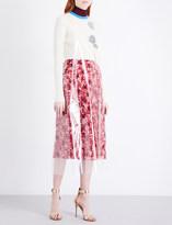 Calvin Klein Transparent A-line PVC dress