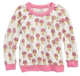 Chaser Toddler Girl's Ice Creams Love Sweatshirt