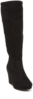 Chinese Laundry Lakeside Knee High Wedge Boot