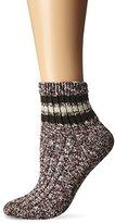 Wigwam Women's Mar-Lee Classic Rag Textured Quarter Socks