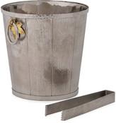 Michael Aram Ivy Oak Bucket with Tongs