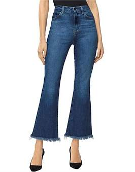 J Brand Julia High Rise Crop Flare Jean