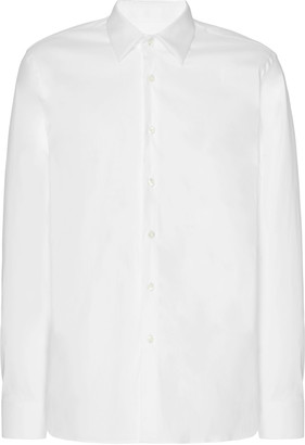 Prada Fitted Poplin Shirt