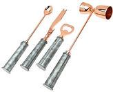 Godinger Four-Piece Rose Goldtone Bar Tool Set