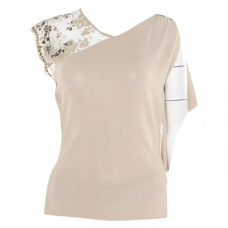 Valentino \N Beige Cotton Tops