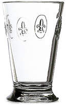 French Home La Rochère Glassware, Set of 6 Fleur De Lys Highball Glasses