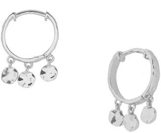 Gorjana Chloe Mini Huggie Dangle Hoop Earrings