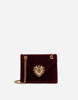 Dolce & Gabbana Medium Velvet Devotion Bag