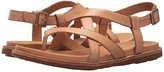 Kork-Ease Ease Yarbrough (Brown Full Grain Leather) Women's Sandals