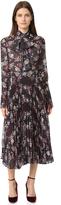 Nicholas Pleated Floral Dress