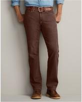 Eddie Bauer Straight Fit Color Bull Denim Jeans